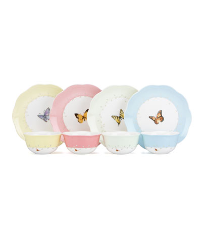 Butterfly Meadow Dessert Bowls  Set of 4