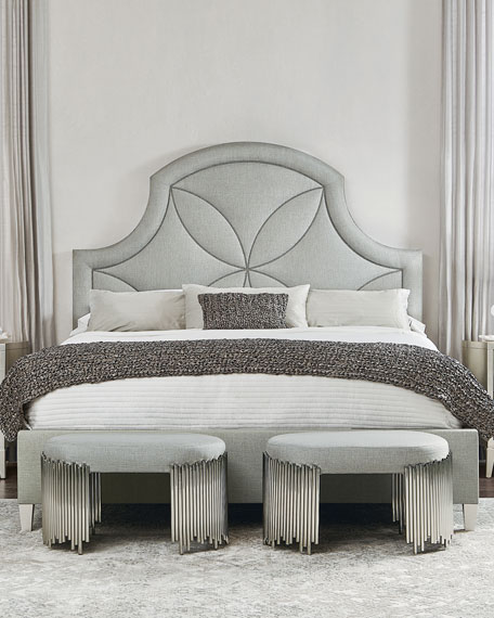 Calista Upholstered King Bed