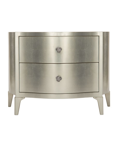 Calista Silver Luster Bachelors Chest