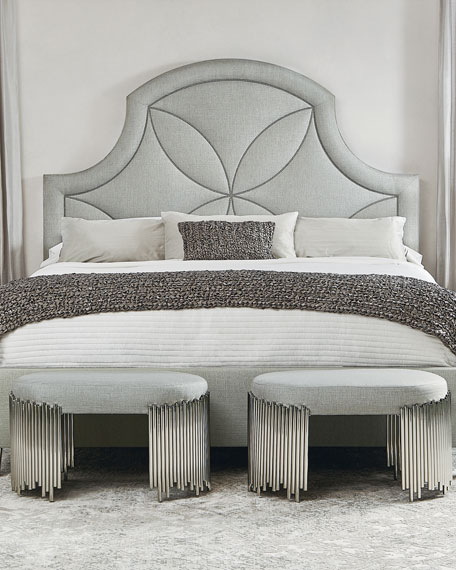 Calista Upholstered California King Bed