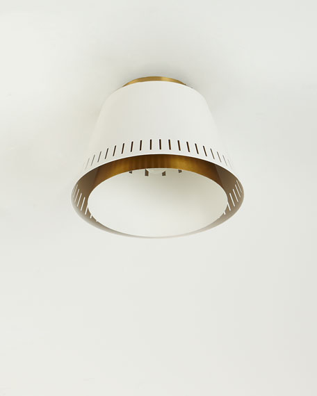 ED Ellen DeGeneres Carter 1-Light Flush Mount