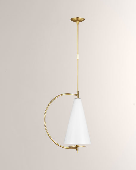 Gesture Tall 1-Light Pendant