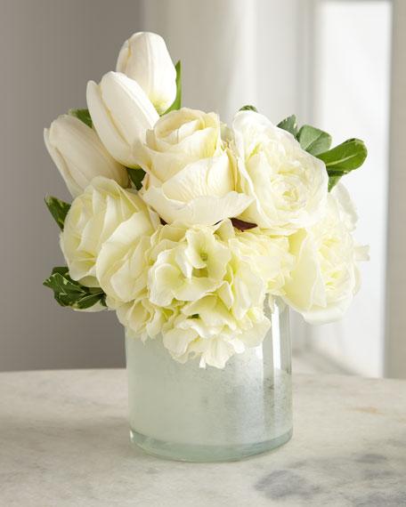 John-Richard Collection Casa Blanca Floral Arrangement