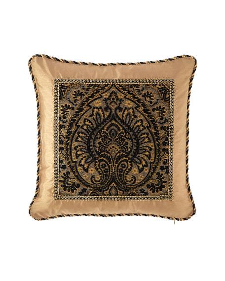 """Valour Framed Pillow, 20""""Sq."""