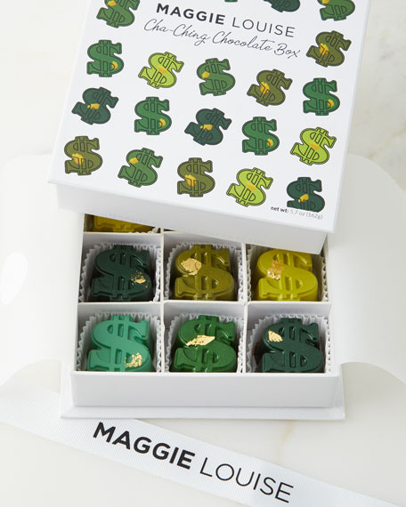 Maggie Louise Cha Ching Chocolate Gift Box