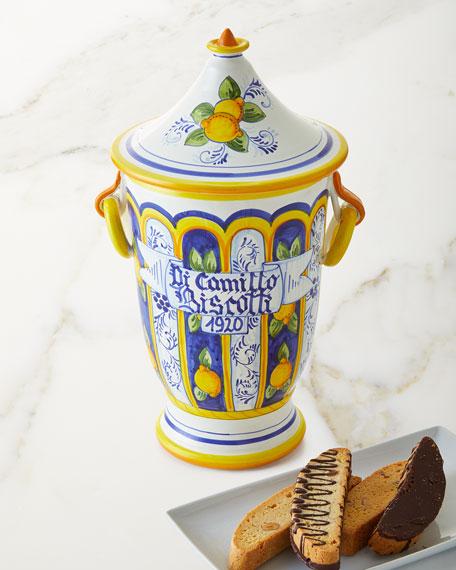 Dicamillo Baking Co Il Barattolo Margent Biscotti Jar,