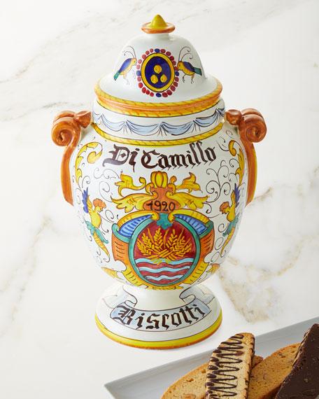 Il Barattolo di Stemma DiCamillo Biscotti Jar, 13 oz.