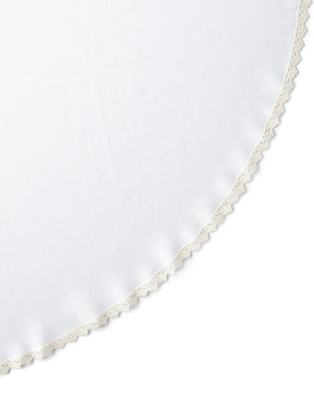 Matouk Tesori Round Tablecloth, 90