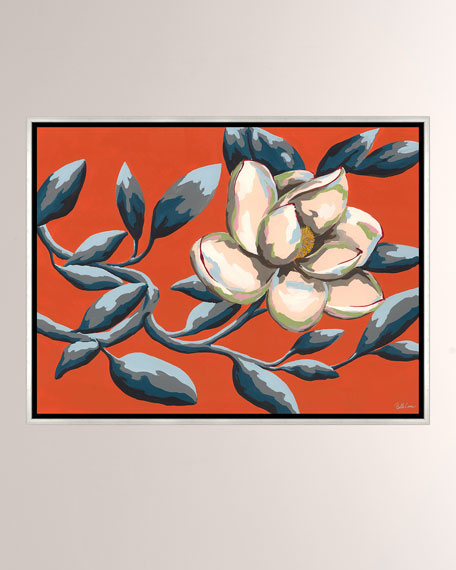 Color Of Summer IV Giclee On Canvas Wall Art With Frame