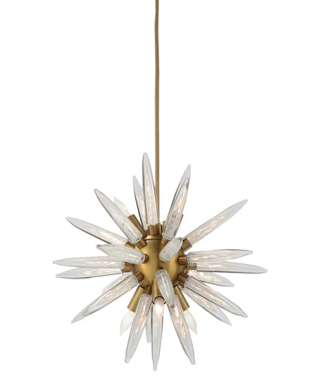 John-Richard Collection Hand-Blown Glass Sphere Lighting Pendant
