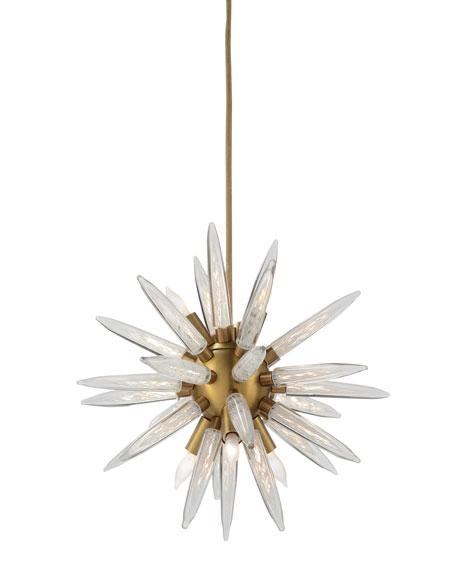 John-Richard Collection Hand-Blown Glass Sphere Lighting Pendant