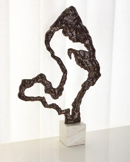 John-Richard Collection Organic Bronze Sculpture