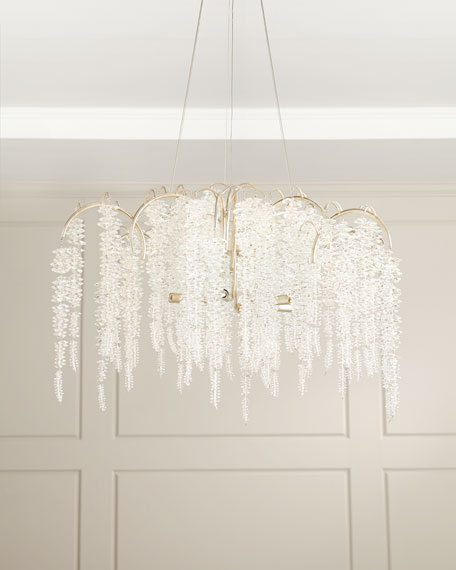 Cascading Crystal 6-Light Chandelier