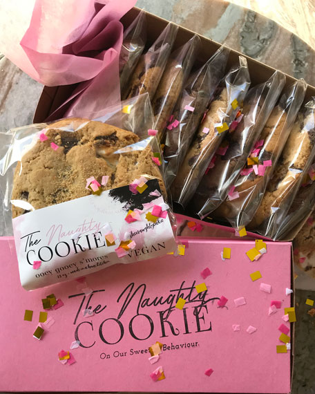 The Naughty Cookie Vegan Naughty Cookie Assortment, 8-Pack