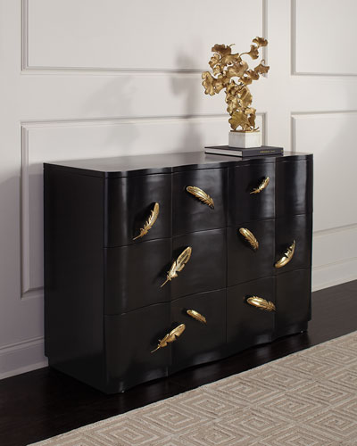 Noir Three Drawer Chest