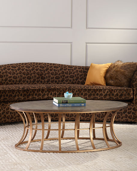 Mia Oval Coffee Table