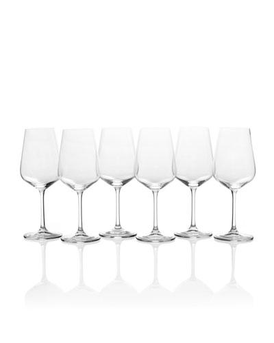 Gianna White Wine Glasses  Set of 6