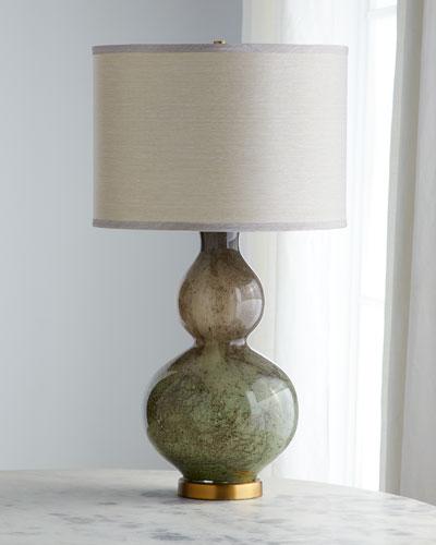 Granite Glass Table Lamp