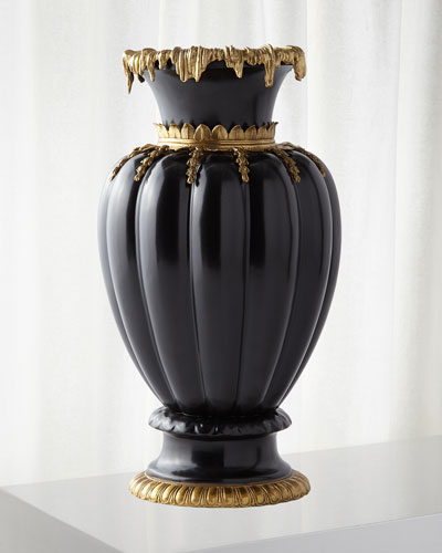 Brass Decorated Vase