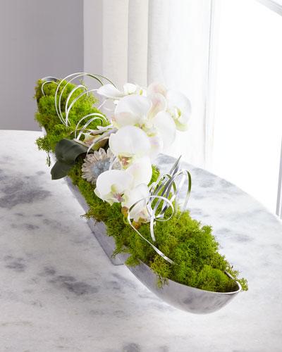 Orchid Crystals Arrangement