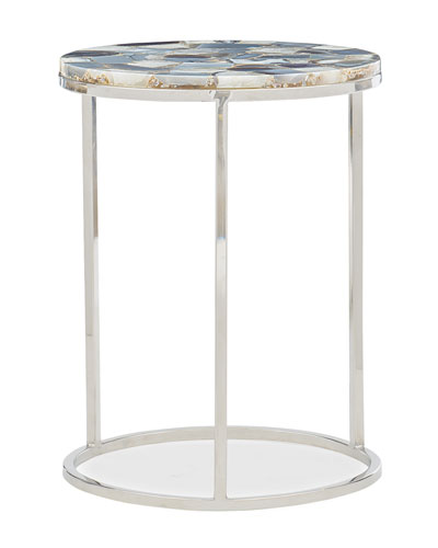 Star Bright Stainless Accent Table