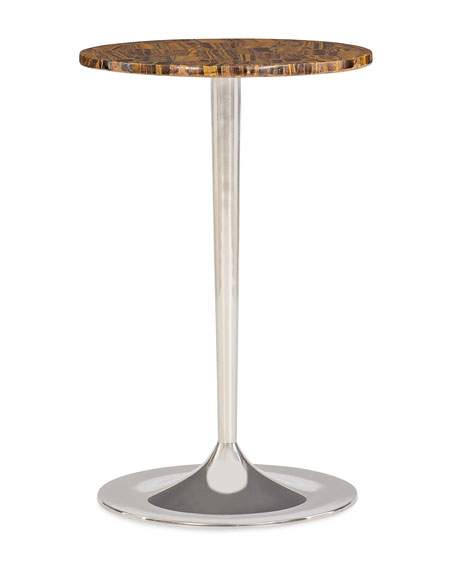 Wild Thing Tiger Eye Accent Table