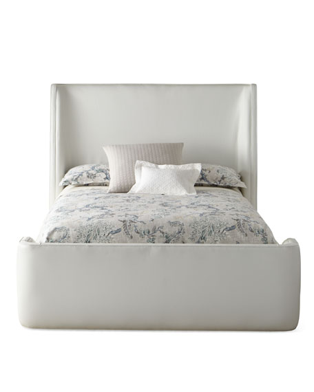 Ricardo Leather King Bed