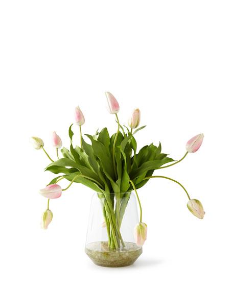 Dutch Tulips in Crushed Calcite