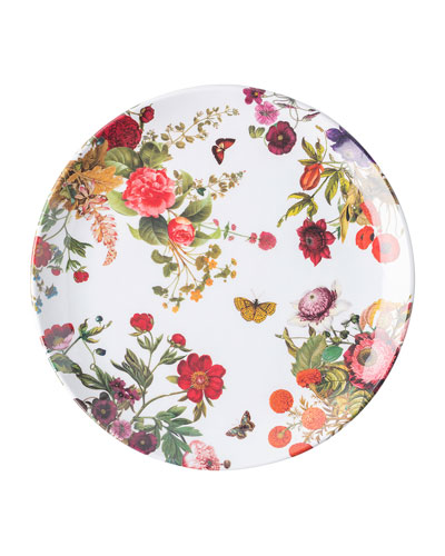 Field of Flowers Melamine Dinner Plate
