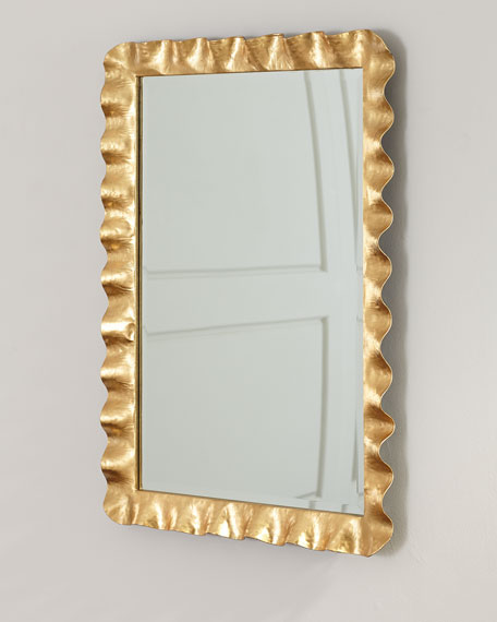 Hand Forged Metal Mirror