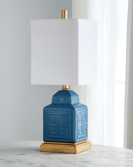 Greek Key Accent Lamp