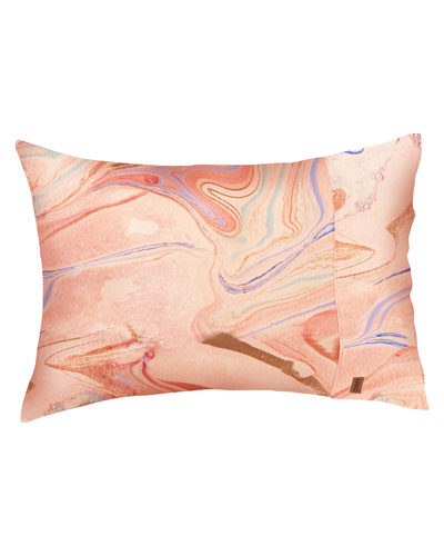 Marble Magic Linen Pillowcases - Standard  Set of Two