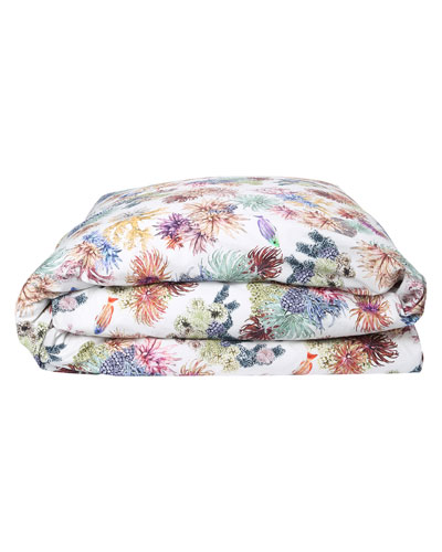 Great Barrier Reef Cotton Duvet Cover - Queen
