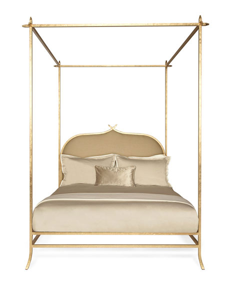 Badgley Mischka Home Casablanca Queen Poster Bed