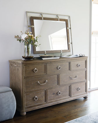 Rustic Patina Eight-Drawer Dresser