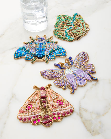 Kim Seybert Pheromone Coasters, Set of 4