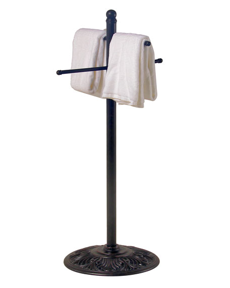 """Outdoor Towel Rack (Arms are 55"""" Long)"""