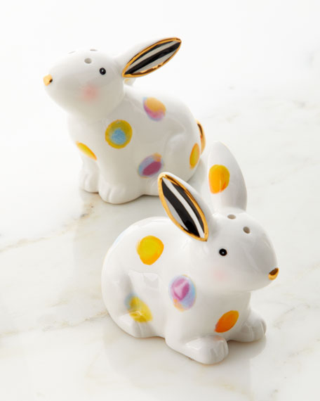 MacKenzie-Childs Dotty Salt & Pepper Shakers