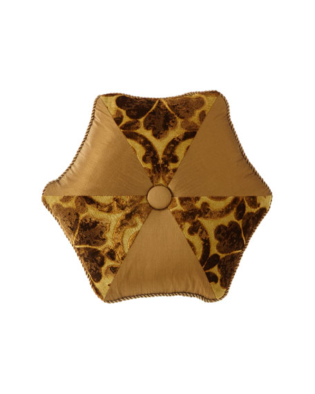Austin Horn Collection Luxe Tambourine Pillow
