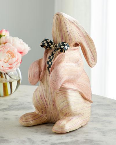 Watercolor Pink Bunny