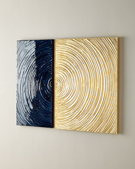 """Swirl Of Day"" 2-Piece Painting"