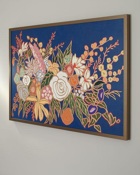 """""""From a Flower Garden"""" Giclee Art"""