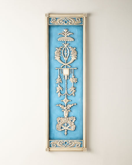 John-Richard Collection Parisian Blue Wall Decor