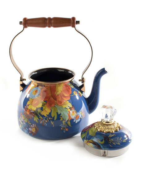 2-Qt. Flower Market Tea Kettle