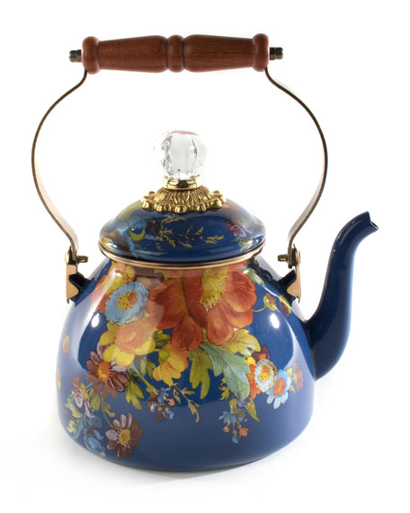 MacKenzie-Childs 2-Qt. Flower Market Tea Kettle