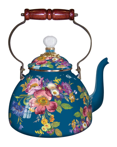 3-Qt. Flower Market Tea Kettle