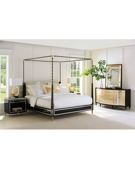 The Couturier King Canopy Bed