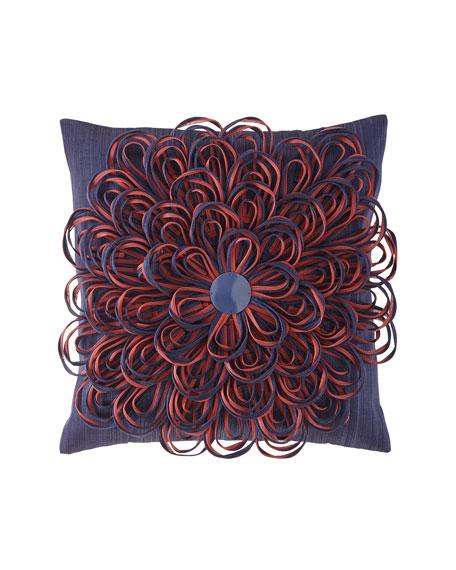MacKenzie-Childs On The Avenue Bluetopia Pillow