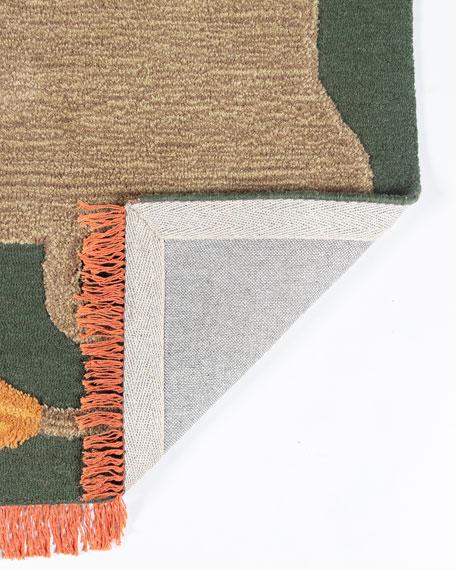 Jefereson Hand-Tufted Rug, 5' x 8'