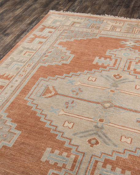 Othello Hand-Knotted Rug, 5' x 8'